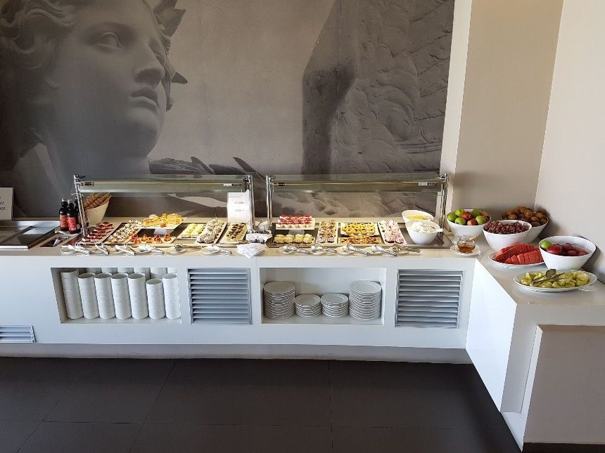 Breakfast buffet at the Elysium Boutique Hotel Crete