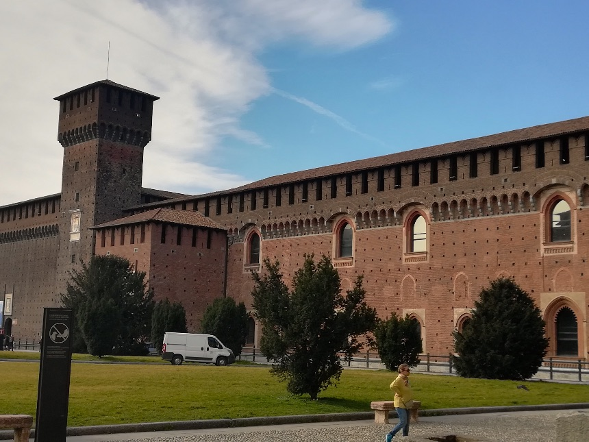 Castello Sforzesco in Milan