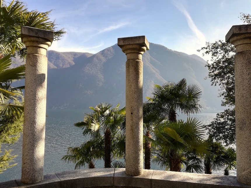 Awesome views at Lake Lugano, Ticino