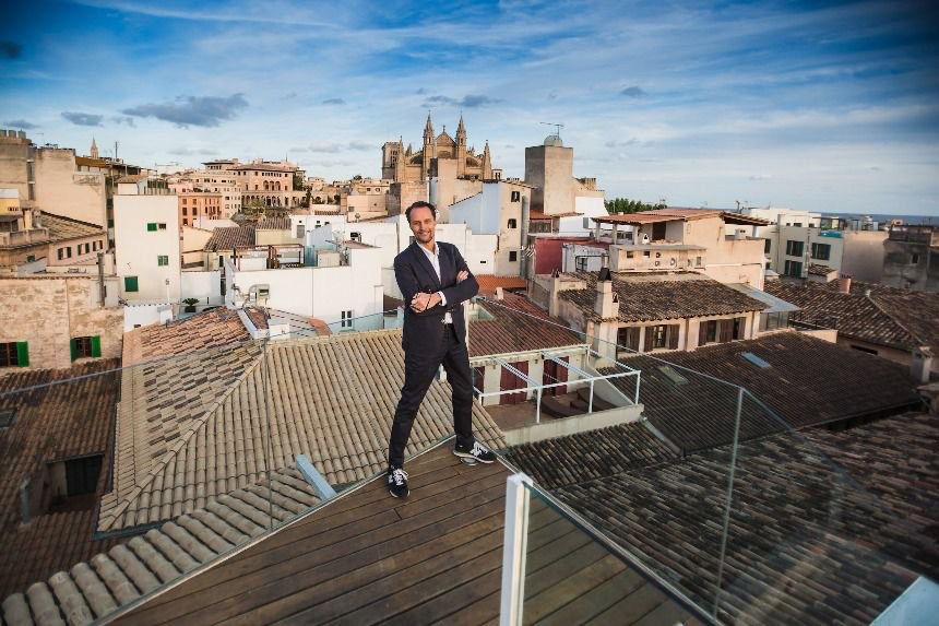 Rooftop of the Purohotel in Palma de Mallorca