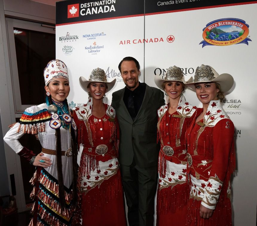 our successful canada event during itb in berlin the worlds largest tourism trade show