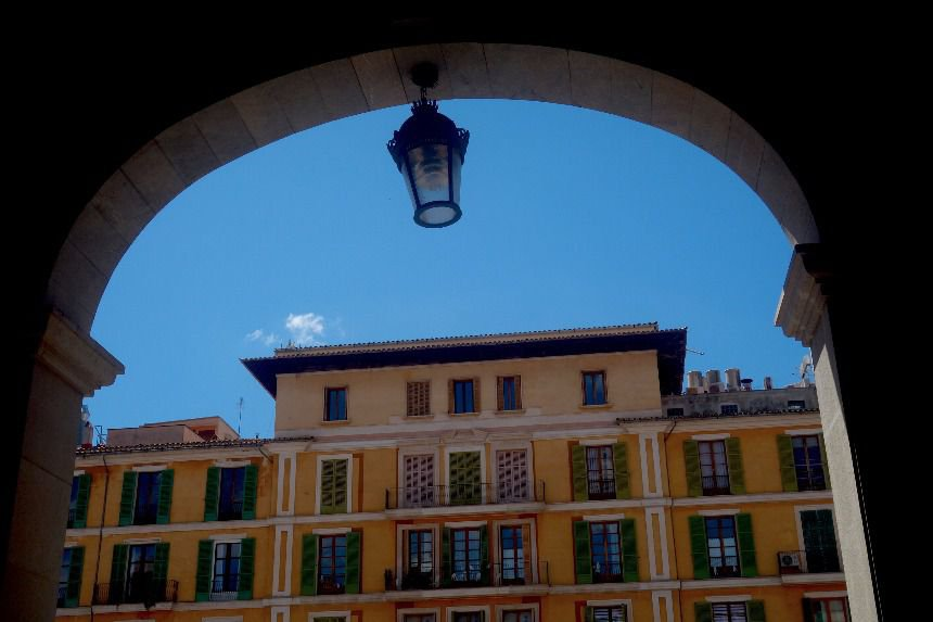 The most beautiful square in Palma de Mallorca