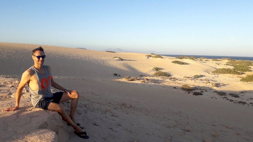 My favorite place on the island of Fuerteventura