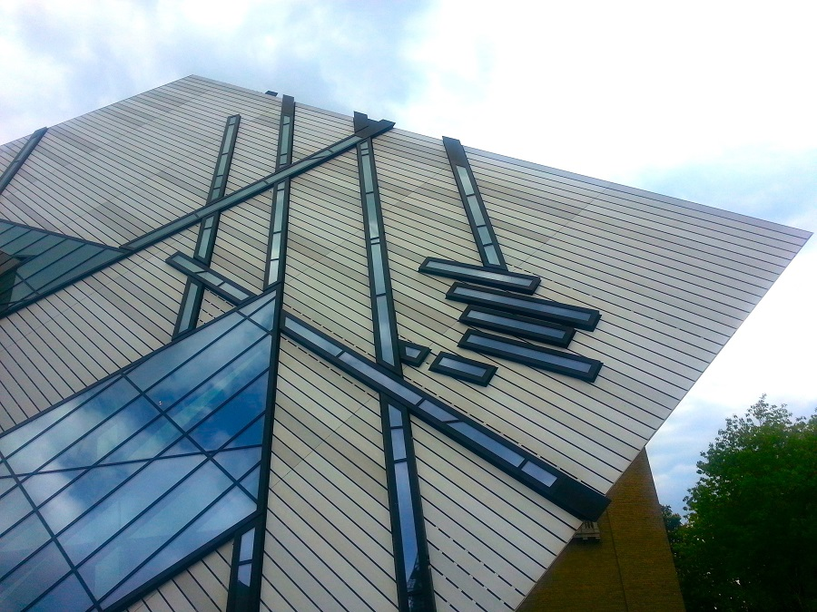 Just spectacular - the Royal Ontario Museum in Yorkville