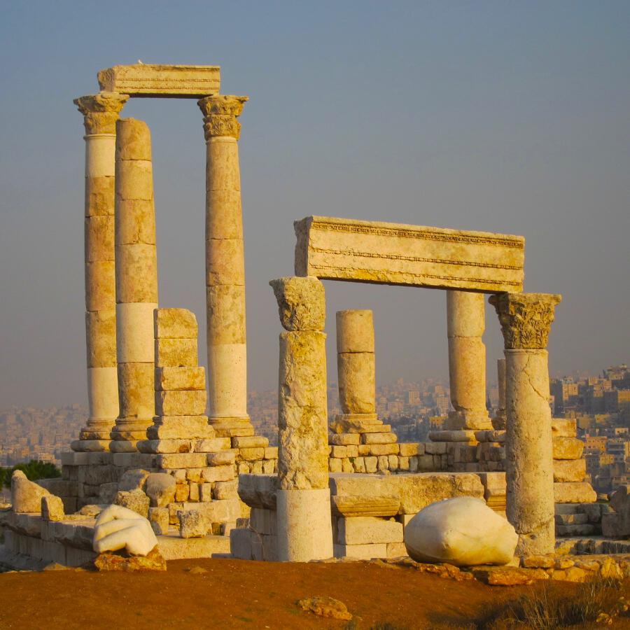 One of the major attractions in Amman