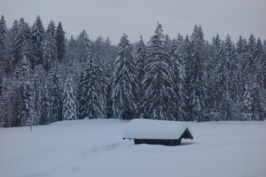 Winter wonderland in Bavaria