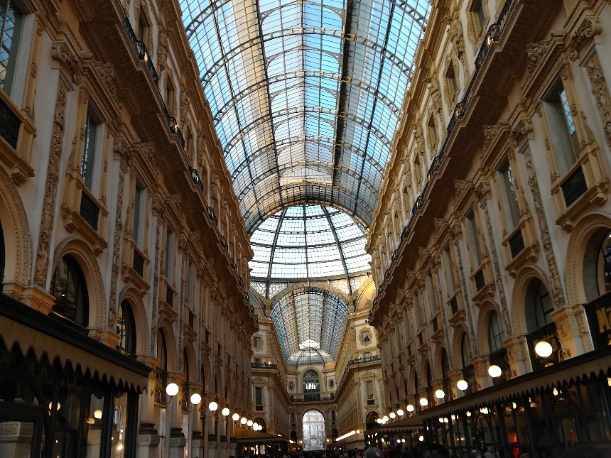 One of the most beautiful malls in all of Europe
